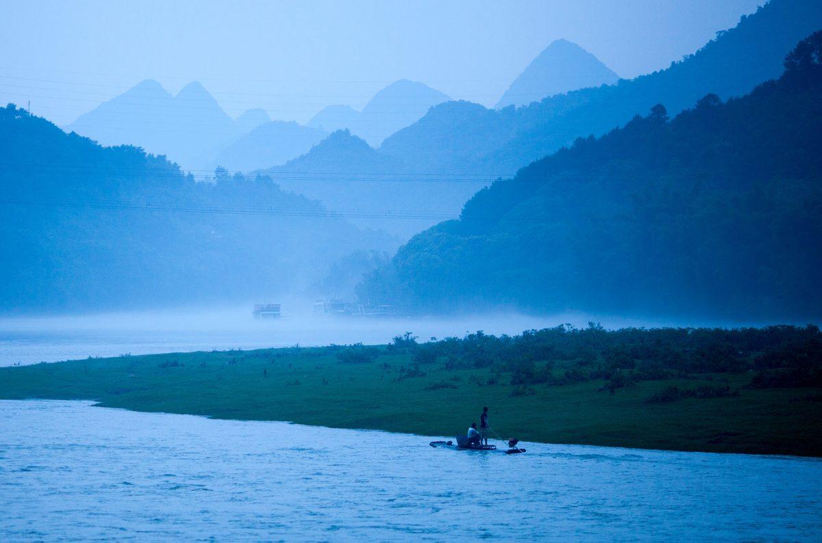 Right before it gets dark in Yanghsuo
