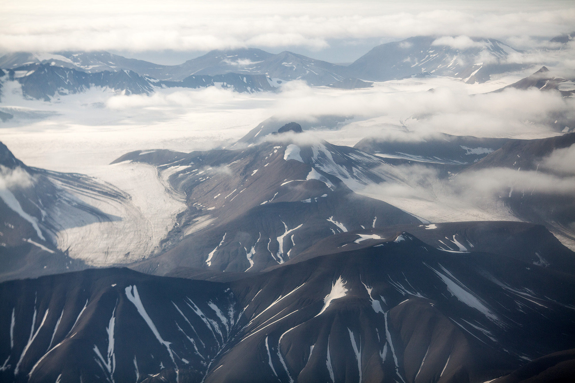 Svalbard from above