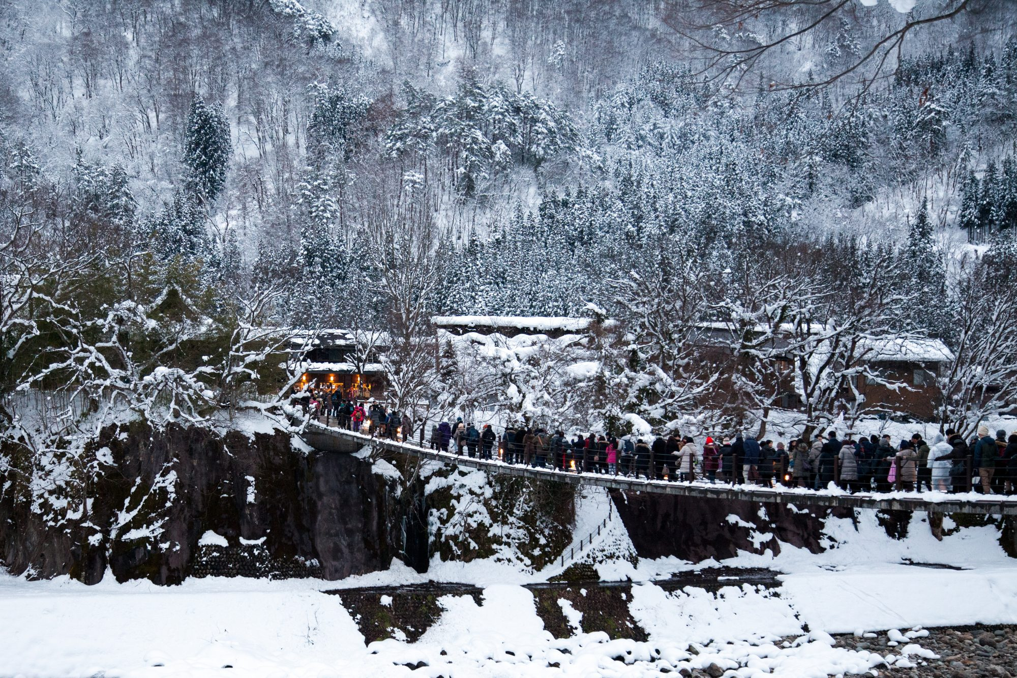 shirakawa go winter