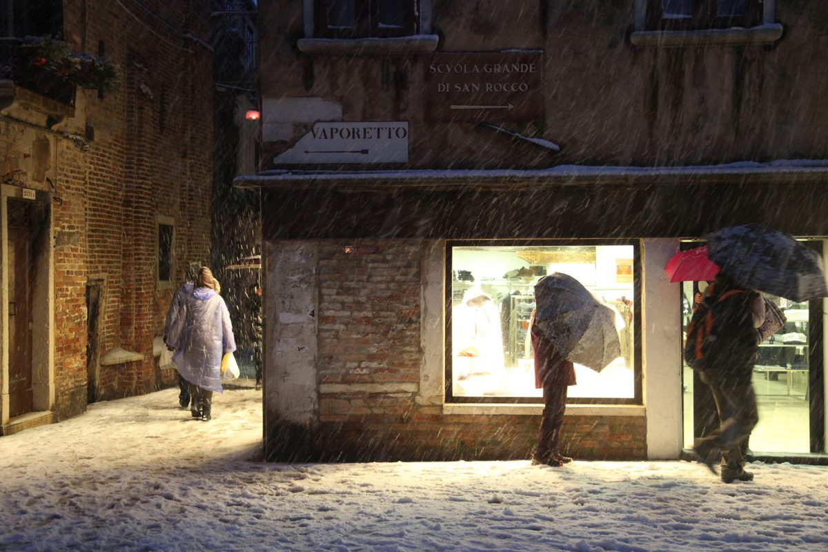Death in Venice: Snow Storm and Some Forced Imagination