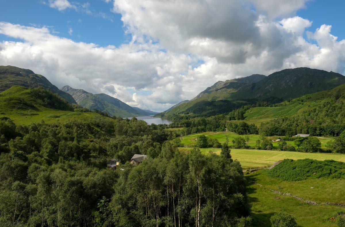 Train Trip in Scottish Highlands