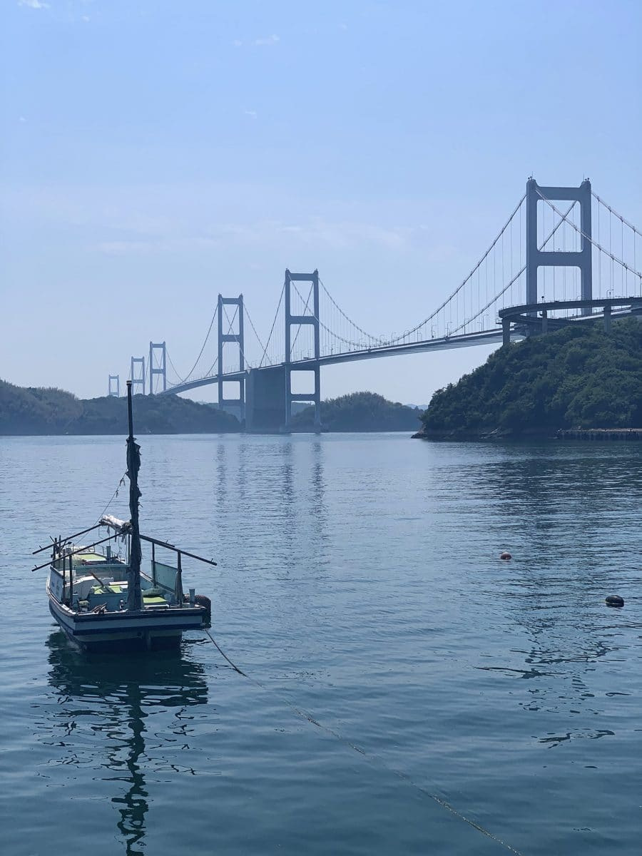 Shimanami Kaido and Kurushima Kaikyo Bridge