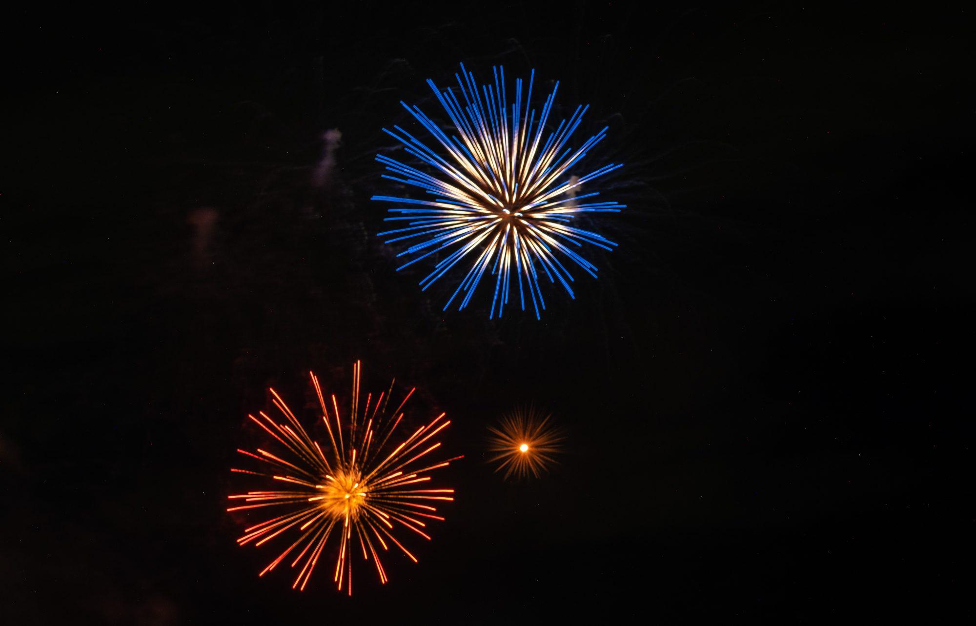 Fireworks in Katsushika
