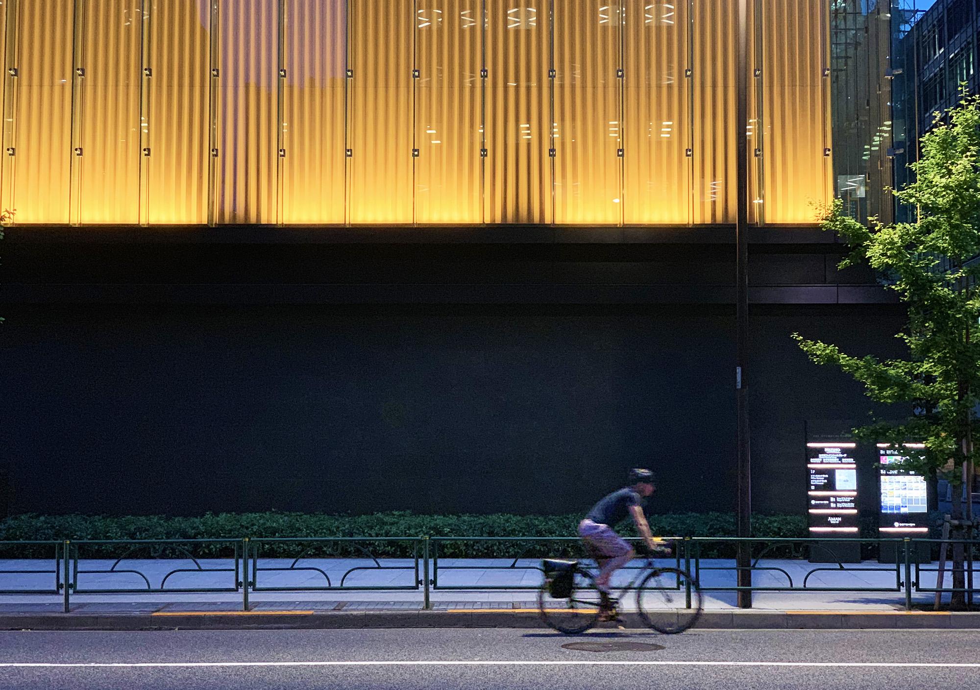 Tokyo evening bikers