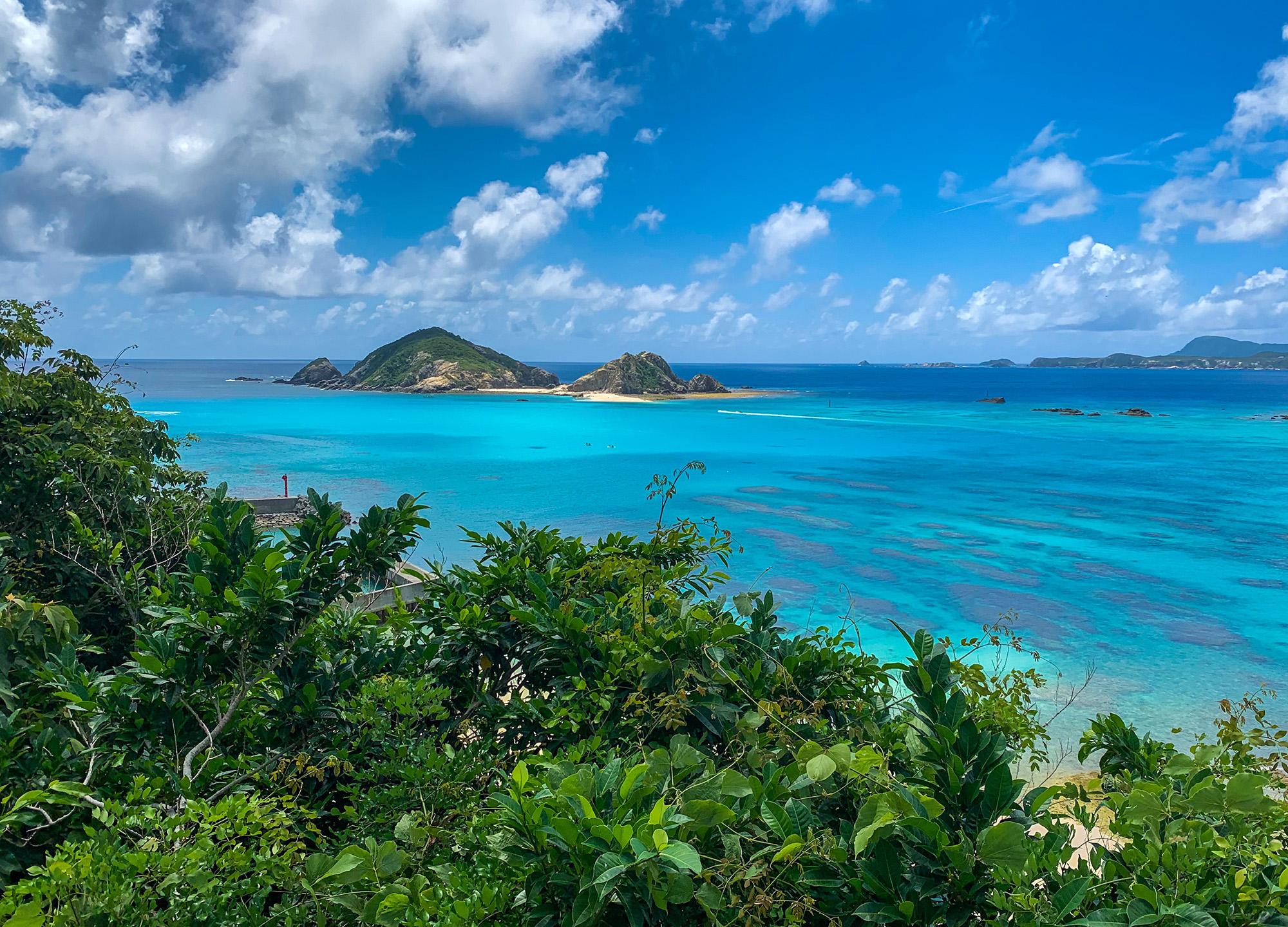 Tokashiki Island in Okinawa