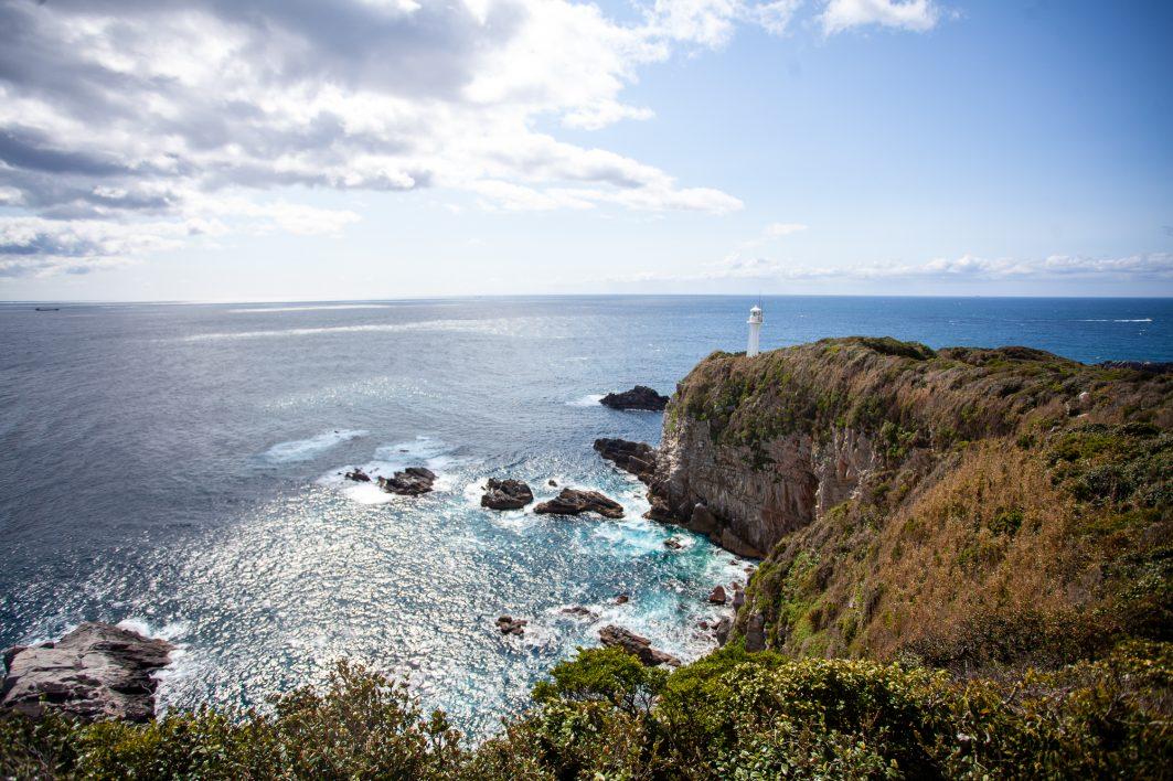 Cape Ashizuri Lighthouse Shikoku