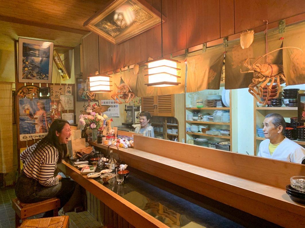 Sushi Dinner in Aki