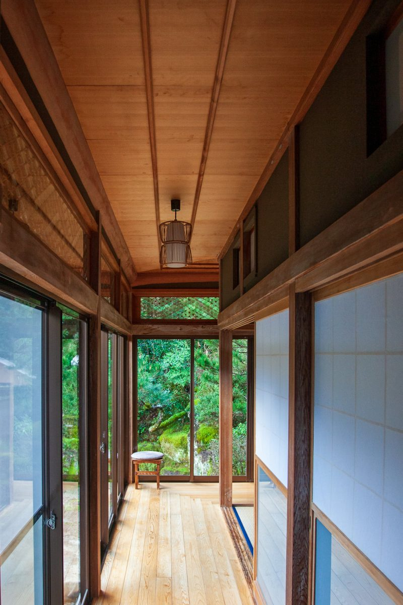 Shinmanto Riverside Hideaway Interior Shikoku Pilgrimage Accommodation
