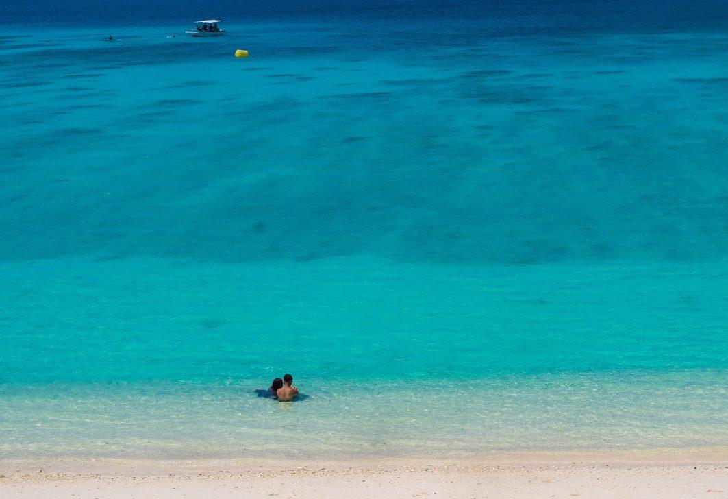 Swimming in Okinawa
