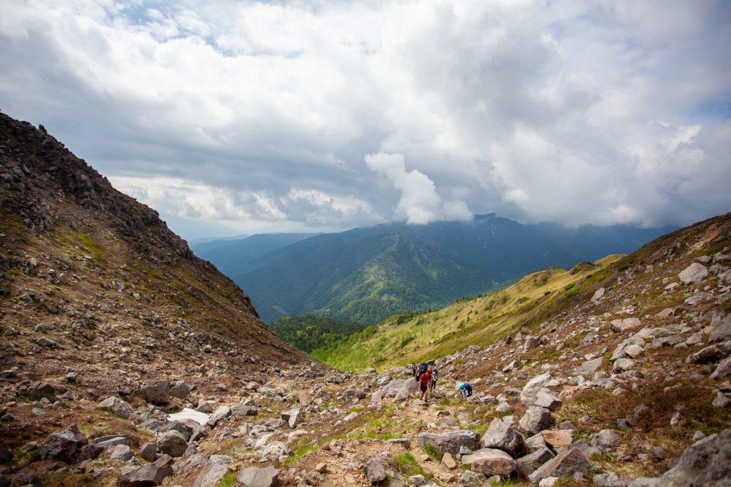 The valley below - Yake Dake