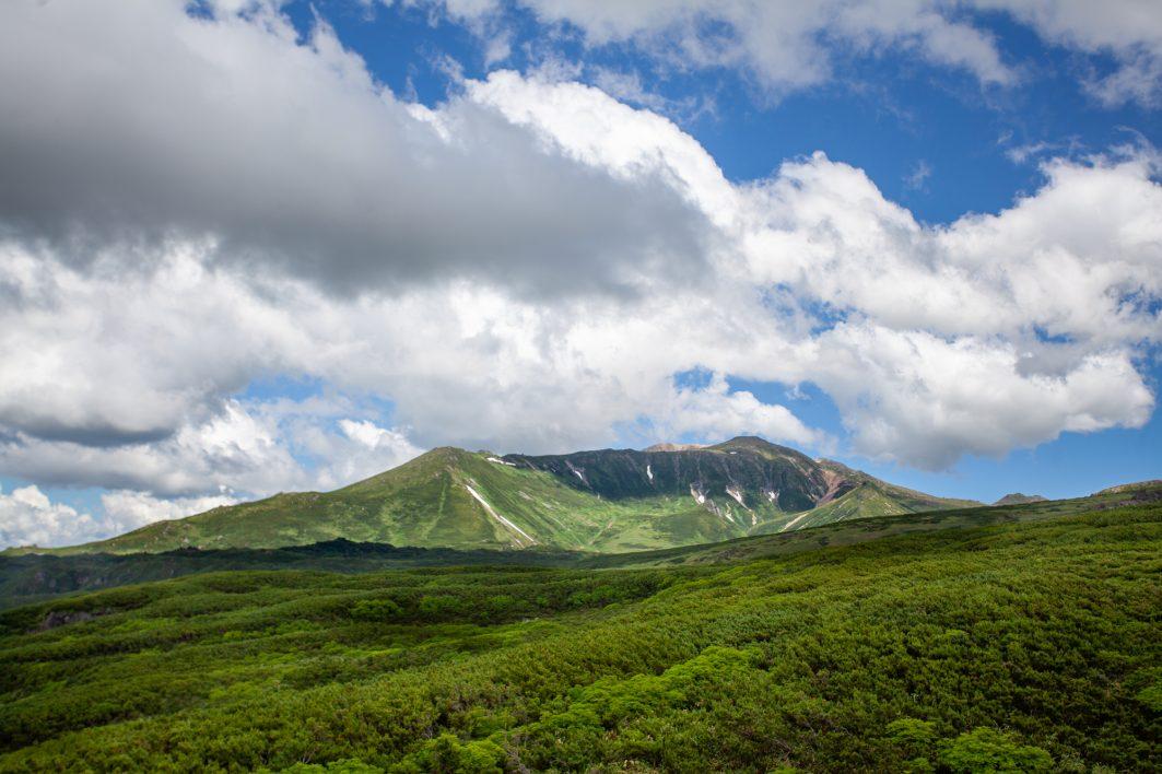 Approaching Daisetsuzan National Park