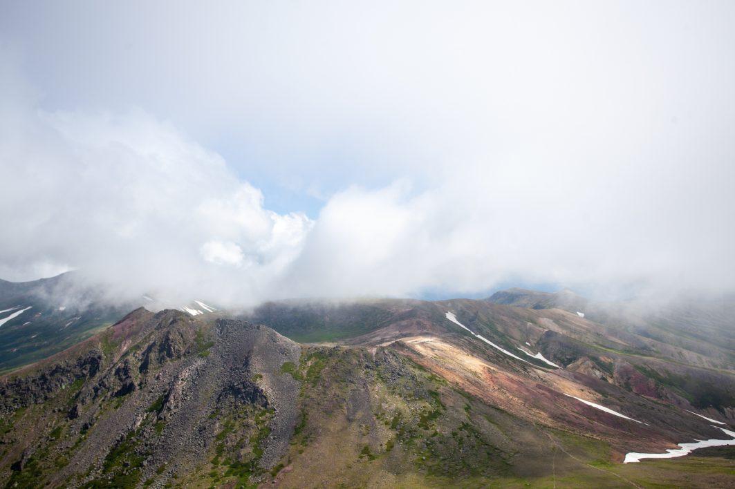 View from Asahidake in Daisetsuzan National Park